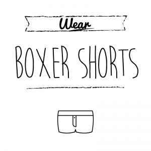 ボクサーパンツ(白)simple-vintage_整理整頓収納ラベル