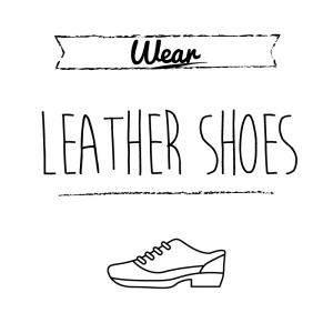 革靴(白)simple-vintage_整理整頓収納ラベル