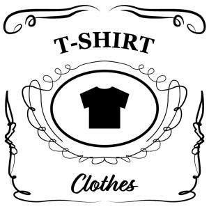 Tシャツ(白)jackdaniels_整理整頓収納ラベル