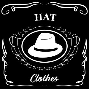 帽子(黒)jackdaniels_整理整頓収納ラベル