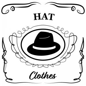 帽子(白)jackdaniels_整理整頓収納ラベル