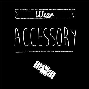 アクセサリー(黒)simple-vintage_整理整頓収納ラベル