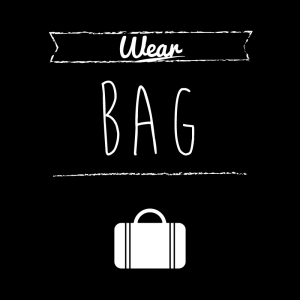 カバン(黒)simple-vintage_整理整頓収納ラベル