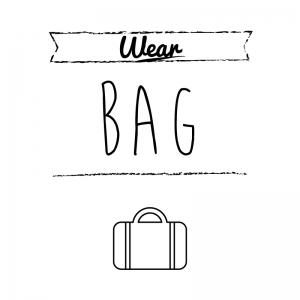カバン(白)simple-vintage_整理整頓収納ラベル