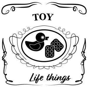 おもちゃ(白)jackdaniels_整理整頓収納ラベル