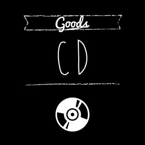 CD(黒)simple-vintage_整理整頓収納ラベル