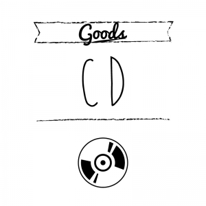 CD(白)simple-vintage_整理整頓収納ラベル