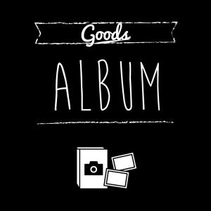 アルバム(黒)simple-vintage_整理整頓収納ラベル