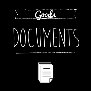書類・資料(黒)simple-vintage_整理整頓収納ラベル