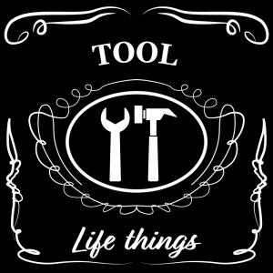 工具(黒)jackdaniels_整理整頓収納ラベル