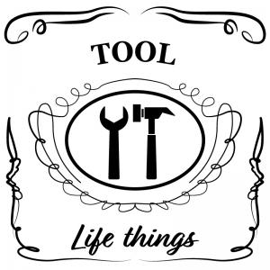 工具(白)jackdaniels_整理整頓収納ラベル