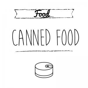 缶詰(白)simple-vintage_整理整頓収納ラベル