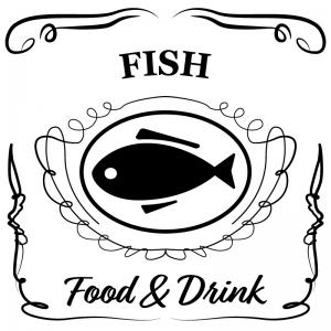魚(白)jackdaniels_整理整頓収納ラベル