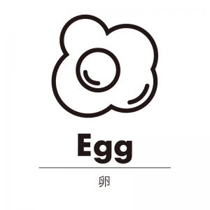 卵(白)urban-casual_整理整頓収納ラベル