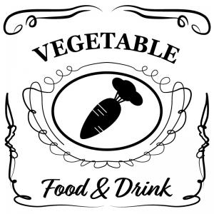 野菜(白)jackdaniels_整理整頓収納ラベル