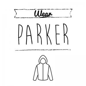 パーカー(白)simple-vintage_整理整頓収納ラベル