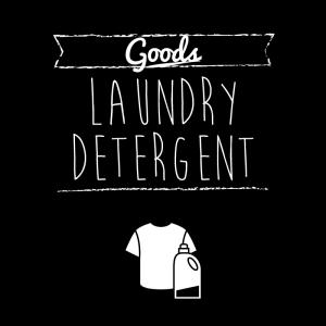 洗濯用洗剤(黒)simple-vintage_整理整頓収納ラベル