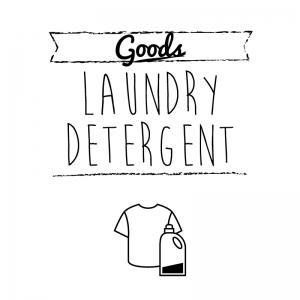 洗濯用洗剤(白)simple-vintage_整理整頓収納ラベル