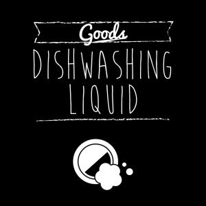 食器用洗剤(黒)simple-vintage_整理整頓収納ラベル