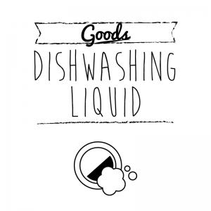 食器用洗剤(白)simple-vintage_整理整頓収納ラベル