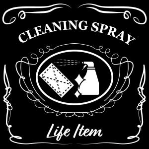 清掃用スプレー(黒)jackdaniels_整理整頓収納ラベル