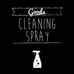 清掃用スプレー(黒)simple-vintage_整理整頓収納ラベル