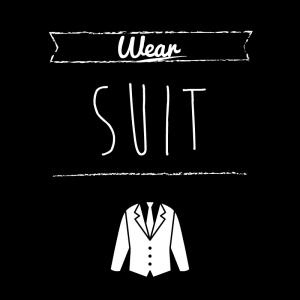 スーツ(正装)(黒)simple-vintage_整理整頓収納ラベル