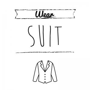 スーツ(正装)(白)simple-vintage_整理整頓収納ラベル