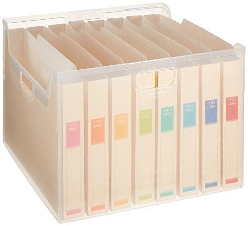 ナカバヤシ ファイルボックス 書類収納ケース 大量書類整理