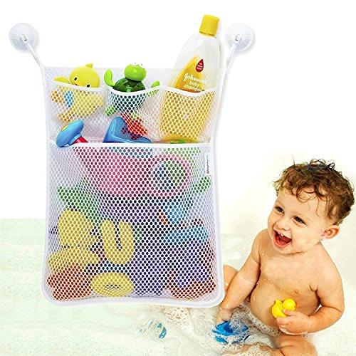 オモチャ収納袋 お風呂ハンモック 片付けネット おもちゃ 整理整頓