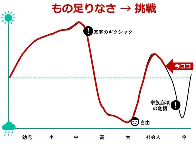 ひなさく人生グラフ_社会人