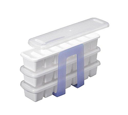 アスベル スリムアイストレー3段 7736 冷凍庫 整理整頓