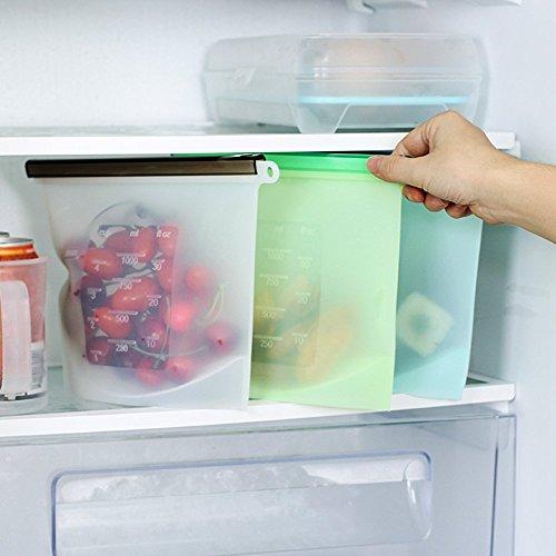 冷凍庫の整理整頓 クッキングセーバーバッグ