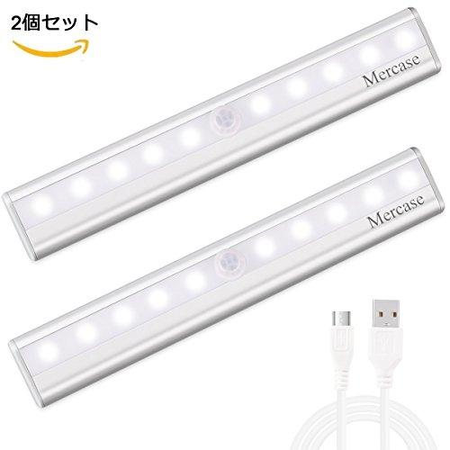 LEDセンサーライト_USB充電式_倉庫