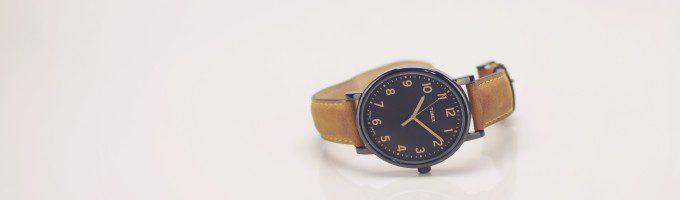 大切なモノだけを収納される腕時計