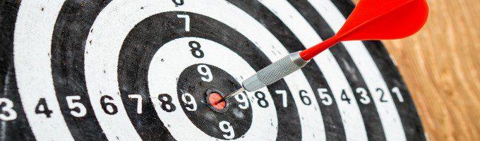 断捨離する目的と対象を明確に示すターゲット