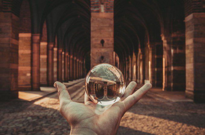 断捨離の方法【原則編】 定番ルールを表す球体