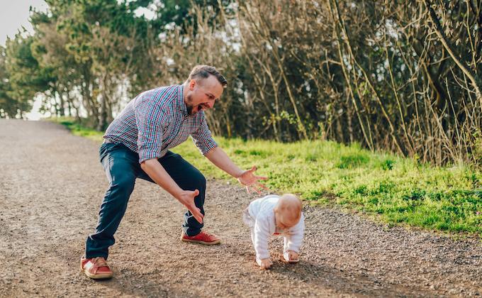育児参加してメリットを感じる父親