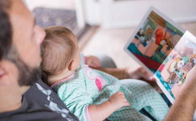 パパとママには役割の違いがある パパの読み聞かせ